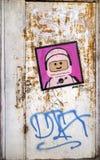 Telefon Aviv Street Art arkivfoton