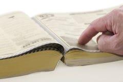 Telefon-Buch Stockbild