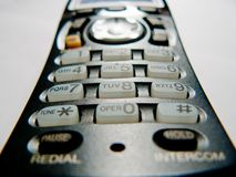 telefon cordless Obrazy Royalty Free