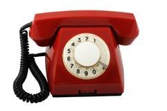 telefon czerwień Obrazy Stock