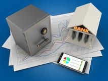Telefon 3D Lizenzfreies Stockfoto