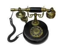 Telefon der alten Art Stockfotografie
