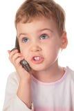 telefon, dziecko komórek Fotografia Stock