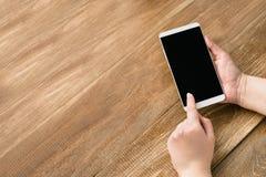 Telefon eller minnestavla Royaltyfri Fotografi