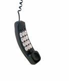 Telefon-Empfänger-Hängen stockbilder