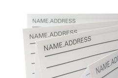 telefon för adressbok Arkivfoton
