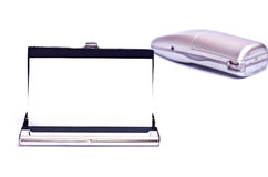telefon för affärskort Fotografering för Bildbyråer