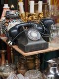 telefon för gammal stil Royaltyfria Bilder