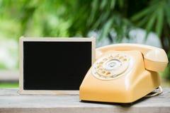 telefon för gammal stil Fotografering för Bildbyråer