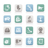 telefon för kommunikationssymbolsmobil royaltyfri illustrationer