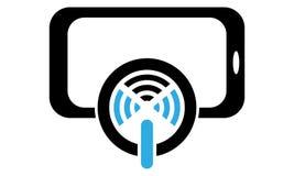 Telefon för pinneSelfie handtag vektor illustrationer