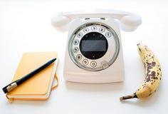 Telefon für Anruf Stockbild