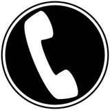 Telefon ikona Zdjęcie Stock
