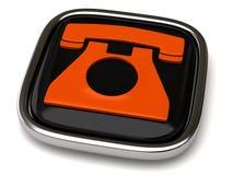 Telefon-Ikone Lizenzfreie Stockbilder