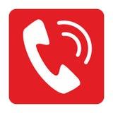 Telefon ikony wektorowy projekt Fotografia Royalty Free