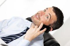 Telefon im Büro Lizenzfreies Stockfoto