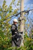 Telefon-Ingenieur Lizenzfreie Stockfotos