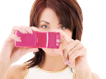 Telefon kamera Obraz Stock