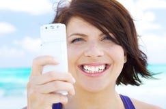 Telefon kamera Fotografia Stock