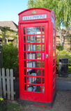 Telefon-Kasten-Buch-Austausch Stockbild
