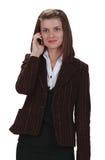 telefon kobieta Fotografia Royalty Free