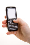 telefon komórki ręce obrazy stock