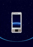 telefon komórkowy dotyk Fotografia Stock