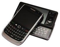 telefon komórkowy dwa obrazy stock