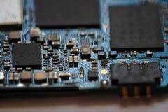 Telefon komórkowy główna deska Zdjęcia Stock