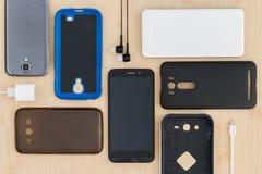 Telefon komórkowy i akcesoria Obraz Royalty Free
