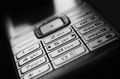 Telefon komórkowy klawiatura - biznes Zdjęcia Royalty Free