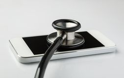 Telefon komórkowy naprawa obrazy stock