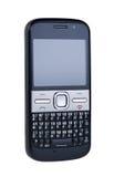 telefon komórkowy odosobniony biel Obrazy Royalty Free