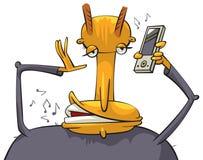 telefon komórkowy rozmowa ilustracja wektor