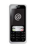 telefon komórkowy s ekranu znak Obraz Royalty Free