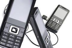 telefon komórkowy set Zdjęcia Stock