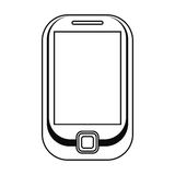 telefon komórkowy technologii mobilna linia Zdjęcia Royalty Free