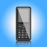 Telefon komórkowy, wektorowa ilustracja Obrazy Royalty Free