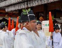 Telefon komórkowy, Yasaka Jinja, Kyoto, Japonia Obrazy Royalty Free