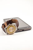 telefon komórkowy zegarek Obraz Royalty Free