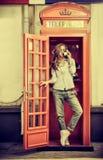 Telefon London Stockfotos