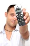 Telefon-Mann Stockfotografie