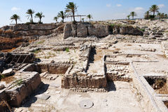 Telefon Megiddo Stockfotografie