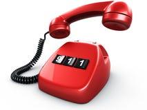 Telefon mit einer Taste vektor abbildung
