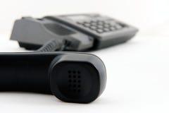Telefon mit Empfänger weg Stockfotografie