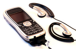 telefon mp3 Royaltyfri Foto