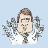 Telefon-Multitasking Lizenzfreie Stockbilder