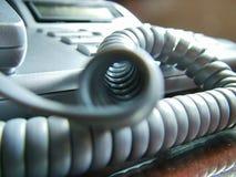 Telefon-Netzkabel Stockfoto