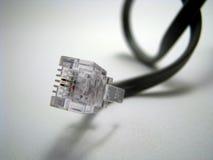 Telefon-Netzkabel Lizenzfreie Stockfotografie