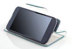 Telefon, pastylki pokrywa Zdjęcia Royalty Free